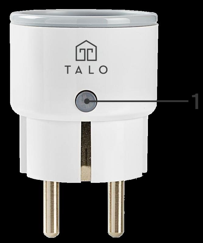 Talo Smart Plug Outline
